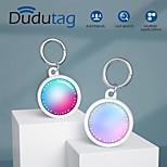 economico -telefono Custodia Per Apple AirTag Per retro AirTag Portatile Anti-perso Colore graduale e sfumato Plastica