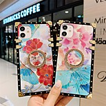 economico -telefono Custodia Per Apple Per retro iPhone 12 Pro Max 11 SE 2020 X XR XS Max 8 7 Resistente agli urti A prova di sporco Con supporto Pop art Fiore decorativo TPU