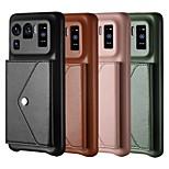 economico -telefono Custodia Per Xiaomi Per retro Custodia in pelle Porta carte di credito Mi 11 Redmi Note 9 Pro Max Mi 10 Lite 5G Redmi Note 9S Redmi 10X Pro 5G Mi Note 10 Lite Mi 11 Pro Mi 11 Lite Mi 11