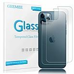 economico -telefono Proteggi Schermo Per Apple iPhone 12 Pro Max 11 SE 2020 X XR XS Max 8 7 Vetro temperato 2 pz Alta definizione (HD) Anti-graffi Proteggi-schermo retro Appendini per cellulare
