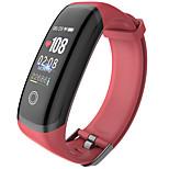economico -DBT-ET5 Intelligente Guarda Bluetooth Schermo touch Monitoraggio frequenza cardiaca Misurazione della pressione sanguigna Timer Pedometro Avviso di chiamata Cassa dell'orologio da 48 mm per Android