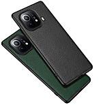 economico -telefono Custodia Per Xiaomi Per retro Mi 11 Mi 11 Pro Mi 11 Ultra Redmi K40 / K40 Pro Resistente agli urti A prova di sporco Effetto ghiaccio Tinta unita vera pelle