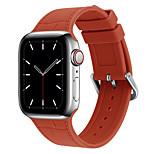 economico -Cinturino intelligente per Apple  iWatch Chiusura classica Silicone Sostituzione Custodia con cinturino a strappo per Apple Watch Serie SE / 6/5/4/3/2/1