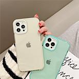 economico -telefono Custodia Per Apple Per retro iPhone 12 Pro Max 11 SE 2020 X XR XS Max 8 7 Resistente agli urti A prova di sporco Tinta unita TPU