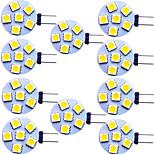 economico -luci led bi-pin 2 pezzi 2 w 200 lm g4 6 perline led smd 5730 bianco caldo bianco naturale bianco 9-30 v