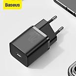 economico -BASEUS 20 W Potenza di uscita USB C Caricatore PD Caricatore veloce Caricatore del telefono Caricabatterie portatile Portatile QC 3.0 Ricarica veloce Per Universale