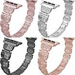 economico -cinturino smartwatch per apple iwatch design di gioielli cinturino da polso sostitutivo in lega di zinco per apple watch serie se / 6/5/4/3/2/1