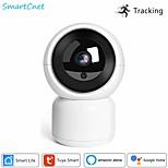 economico -smartcnet tuya smart life 1080p ip camera 2m wireless wifi camera security monitoring cctv camera work with alexa google home