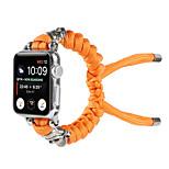 economico -Cinturino intelligente per Apple  iWatch 1 pcs Braccialetto di tessitura Nylon Lega di zinco Sostituzione Custodia con cinturino a strappo per Apple Watch Serie SE / 6/5/4/3/2/1