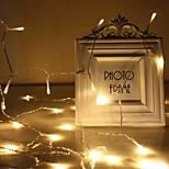 economico -luci a stringa led alimentate da usb bianco caldo multi colore decorazione di nozze natalizie 3m 6m 10m