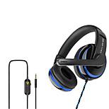 """economico -OVLENG OV-P4 Cuffie da gioco """"Jack audio da 3,5 mm"""" Design ergonomico Retrattile Stereo per Apple Samsung Huawei Xiaomi MI PC"""