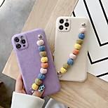 economico -telefono Custodia Per Apple Per retro iPhone 12 Pro Max 11 SE 2020 X XR XS Max 8 7 Resistente agli urti A prova di sporco Tinta unita Felpato Felpato