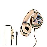 """economico -OVLENG Q9 Cuffie da gioco """"Jack audio USB da 3,5 mm"""" PS4 PS5 XBOX Design ergonomico Retrattile Stereo per Apple Samsung Huawei Xiaomi MI PC"""