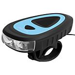 economico -LED Luci bici Luce frontale per bici LED Bicicletta Ciclismo Impermeabile Super luminoso Duraturo Batteria ricaricabileLi-ion 1200 lm USB Bianco Campeggio / Escursionismo / Speleologia Uso / IPX 6