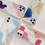 economico -telefono Custodia Per Apple Per retro iPhone 12 Pro Max 11 SE 2020 X XR XS Max 8 7 Resistente agli urti A prova di sporco Con onde Colore graduale e sfumato TPU