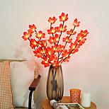 economico -foglia d'acero ramo luci 75 cm 20 led ramo di salice luce flessibile aa alimentato a batteria vaso alto riempitivo salice ramoscello lampada per la decorazione domestica illuminazione