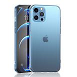 economico -telefono Custodia Per Apple Per retro iPhone 12 Pro Max 11 SE 2020 X XR XS Max 8 7 6 Resistente agli urti A prova di sporco Placcato Tinta unita TPU