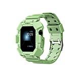economico -Cinturino intelligente per Apple  iWatch Cinturino sportivo Silicone Sostituzione Custodia con cinturino a strappo per Apple Watch Serie SE / 6/5/4/3/2/1