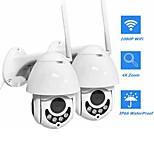 economico -telecamera di sorveglianza wireless a cupola a infrarossi wifi smart monitor rotazione bidirezionale citofono vocale ptz