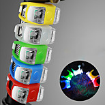 economico -LED Luci bici Luce luci di sicurezza LED Bicicletta Ciclismo Impermeabile Super luminoso Duraturo Batteria ricaricabileLi-ion / Campeggio / Escursionismo / Speleologia Uso quotidiano Ciclismo