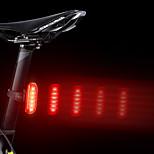 economico -LED Luci bici Luce posteriore per bici LED Bicicletta Ciclismo Impermeabile Super luminoso Duraturo Batteria ricaricabileLi-ion / USB Campeggio / Escursionismo / Speleologia Uso quotidiano Ciclismo