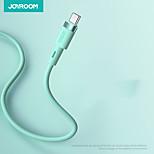 economico -Joyroom Micro USB USB C Cavi Carica rapida 2.4 A 1,2 m (4 piedi) Alluminio Silicone Per Samsung Xiaomi Huawei Appendini per cellulare