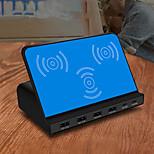 economico -120 W Potenza di uscita USB Caricatore USB Caricatore senza fili QC 3.0 Caricatore senza fili Ricarica veloce Per Universale