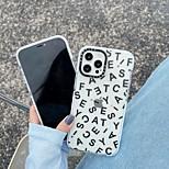 economico -telefono Custodia Per Apple Per retro iPhone 12 Pro Max 11 SE 2020 X XR XS Max 8 7 Resistente agli urti A prova di sporco Frasi famose TPU