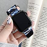 economico -Cinturino intelligente per Apple  iWatch 1 pcs Banda di affari Nylon Tela Sostituzione Custodia con cinturino a strappo per Apple Watch Serie SE / 6/5/4/3/2/1