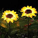 economico -giardino di energia solare luci del prato all'aperto set impermeabili all'aperto artificiali piante luce del prato di girasole lampada da palo per cortile patio giardino paesaggio esterno