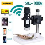 economico -microscopio digitale portatile rievbcau supporto microscopio elettronico portatile wifi 0-1000x