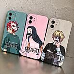 economico -Demon Slayer: Kimetsu no Yaiba telefono Custodia Per Apple Per retro iPhone 12 Pro Max 11 SE 2020 X XR XS Max 8 7 Resistente agli urti A prova di sporco Cartoni animati TPU