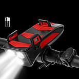 economico -LED Luci bici Luce frontale per bici LED Bicicletta Ciclismo Impermeabile Super luminoso Duraturo Batteria ricaricabileLi-ion 250 lm USB Campeggio / Escursionismo / Speleologia Uso quotidiano