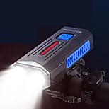 economico -LED Luci bici Luce frontale per bici LED Bicicletta Ciclismo Impermeabile Super luminoso Duraturo Batteria ricaricabileLi-ion 1000 lm USB Campeggio / Escursionismo / Speleologia Uso quotidiano