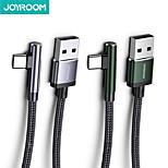 economico -Joyroom Micro USB USB C Cavi Carica rapida 3 A 1,2 m (4 piedi) Alluminio Nylon Per Samsung Xiaomi Huawei Appendini per cellulare