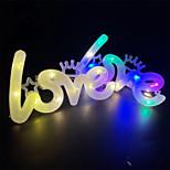 economico -luce notturna a led 1 pz 4 pz 10 pz luci d'amore led 520 forma di amore confessione proposta di san valentino decorazione della lampada della torta della festa nuziale