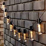economico -Lampada da esterno a led solare st64 lampadina ip65 impermeabile per cortile ghirlanda decorazione illuminazione patio lampada da prato illuminazione natalizia bianco caldo colorato