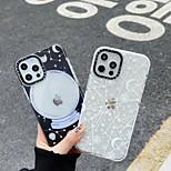 economico -telefono Custodia Per Apple Per retro iPhone 12 Pro Max 11 SE 2020 X XR XS Max 8 7 Resistente agli urti A prova di sporco Cielo TPU