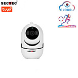 economico -Telecamera IP 1080p app tuya sicurezza domestica telecamera per interni sorveglianza cctv telecamera wifi wireless baby monitor