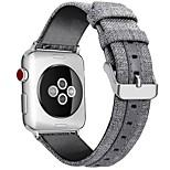 economico -Cinturino intelligente per Apple  iWatch 1 pcs Chiusura classica Tela Sostituzione Custodia con cinturino a strappo per Apple Watch Serie SE / 6/5/4/3/2/1