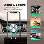 economico -UGREEN Supporto per cellulare Auto Supporto per auto Tipo di gravità Silicone Lega di alluminio Appendini per cellulare iPhone 12 11 Pro Xs Xs Max Xr X 8 Samsung Glaxy S21 S20 Note20