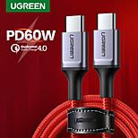 economico -UGREEN USB C Cavi Alta velocità Carica rapida 3 A 1,2 m (4 piedi) Alluminio Nylon Per Samsung Xiaomi Huawei Appendini per cellulare