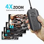 economico -Endoscopio wireless endoscopio da 5,5 mm 1080p con 6 luci a led telecamera di ispezione telecamera serpente zoomabile per Android& tablet ios duro