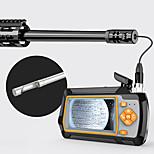 economico -Telecamera di ispezione visiva per la pulizia dell'endoscopio lcd da 3,9 mm calibro 20& tubo di inserimento del tiro da caccia più grande& 4,3 pollici 1080p con scheda tf da 32 gg