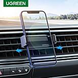 economico -UGREEN Supporto per cellulare Auto Supporto per auto Tipo di fibbia Silicone Lega di alluminio Appendini per cellulare iPhone 12 11 Pro Xs Xs Max Xr X 8 Samsung Glaxy S21 S20 Note20