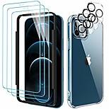 economico -qitayo [7 in 1] 3 pezzi di pellicola protettiva per iphone 12 pro e 1 pezzo di custodia per iphone 12 pro e 3 pezzi di pellicola protettiva per fotocamera iphone 12 pro per iphone 12 pro (6,1 pollici)