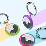economico -custodia protettiva trasparente sfumata per dispositivo anti-smarrimento tracker airtag apple con portachiavi copertura protettiva antigraffio per airtag