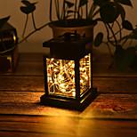 economico -luci solari giardino esterno luce 1 pz 30 led palazzo lanterna lampadario cortile esterno decorazione lampada impermeabile appeso albero lampada stella