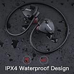 economico -AWEI A847BL Cuffia per archetto Bluetooth 4.2 Design ergonomico Dotato di microfono IPX4 impermeabile per Apple Samsung Huawei Xiaomi MI Uso quotidiano Viaggi All'aperto Cellulare