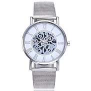 cheap -Women's Wrist watch Fashion Watch Chinese Quartz Large Dial Alloy Band Casual Minimalist Silver Gold